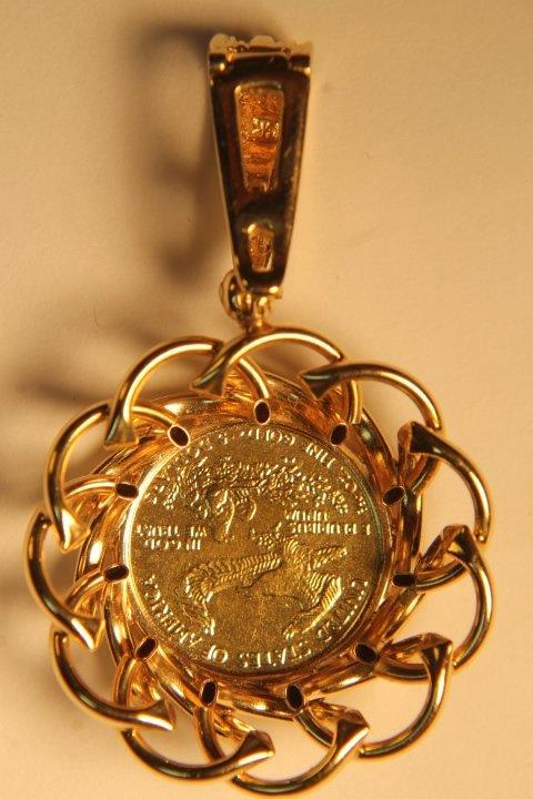 5 Dollar US Gold Coin - 3