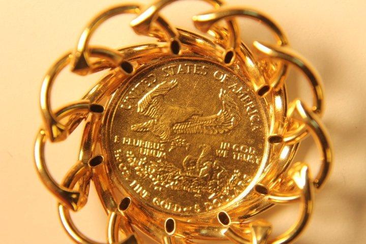 5 Dollar US Gold Coin - 4