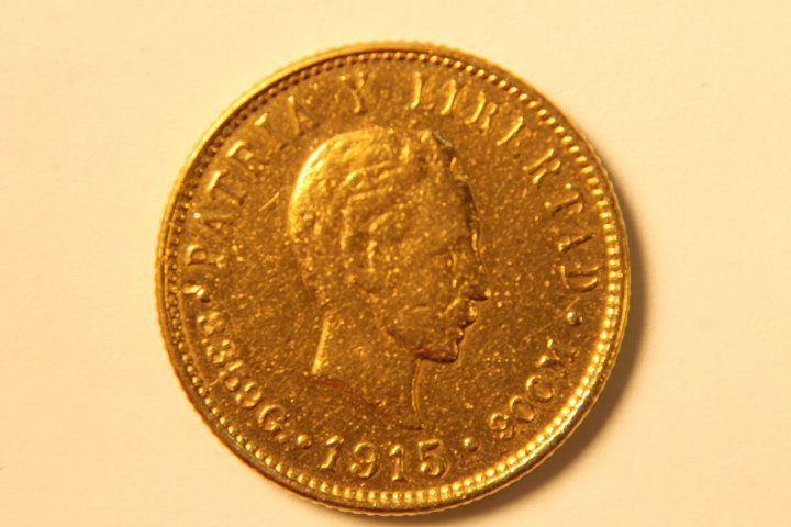 5 Peso Cuban Gold Coin