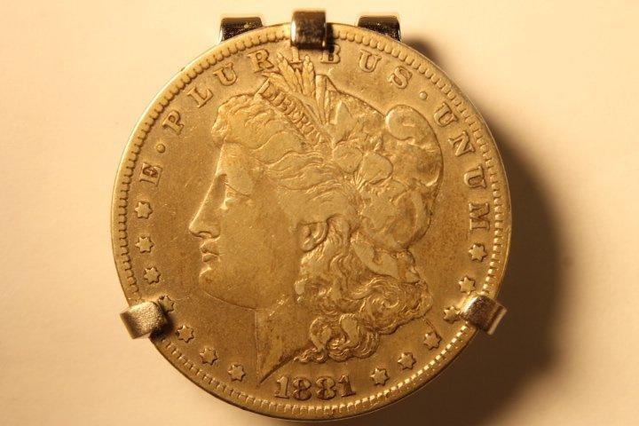 Lot of 3 US Morgan Silver Dollars - 2