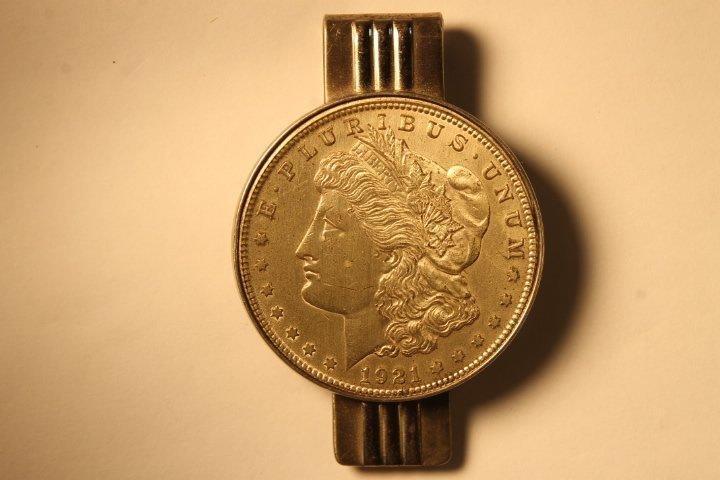 Lot of 3 US Morgan Silver Dollars - 4