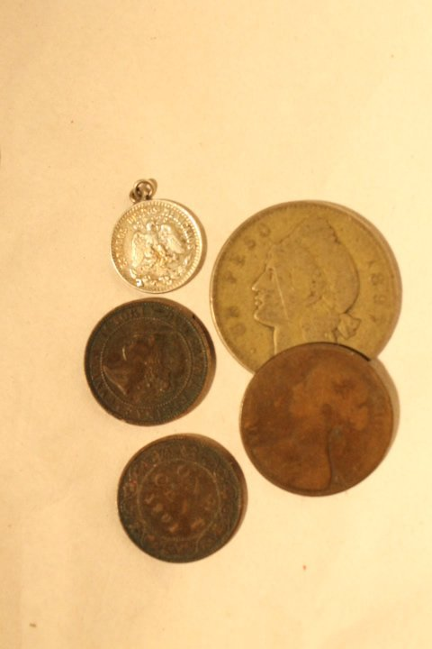 Box Lot of Coins & Paper Money - 3