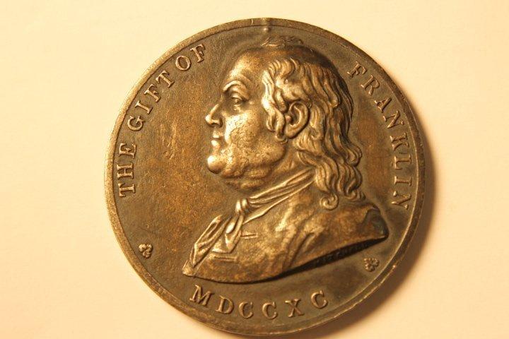 1853 Boston English Silver Medal