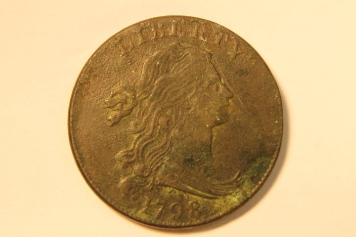 1798 Draped Bust US Large Cent