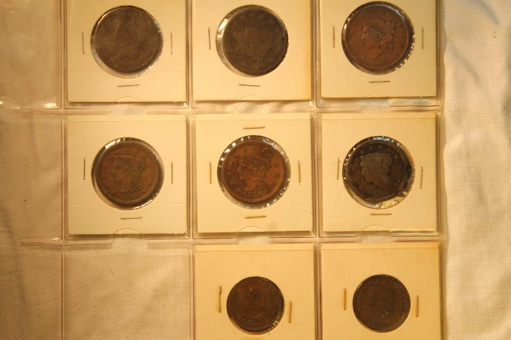8 Assorted US Coins
