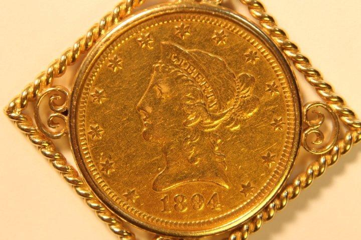 10 Dollar US Gold Coin