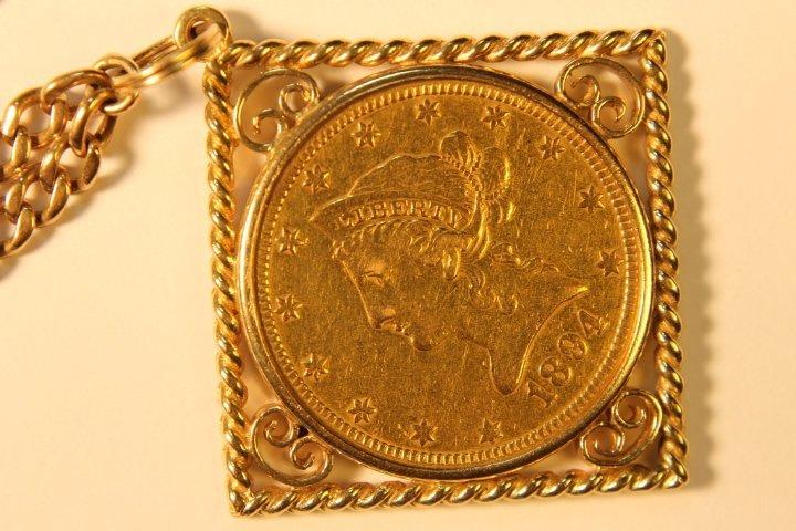 10 Dollar US Gold Coin - 2
