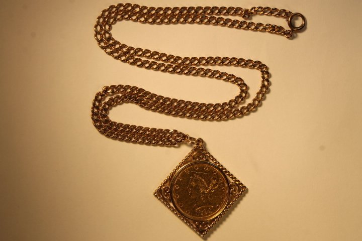10 Dollar US Gold Coin - 3