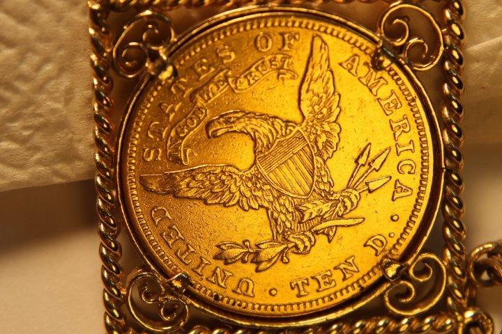 10 Dollar US Gold Coin - 5