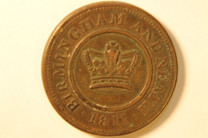 Crown Copper Company 1 PennyToken