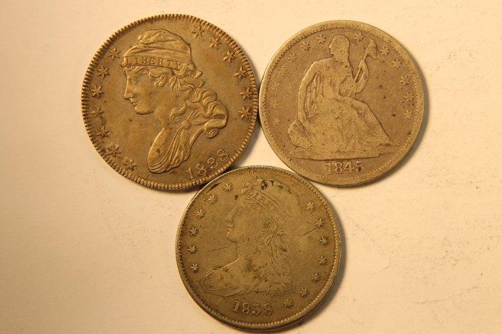 5 Silver US Half Dollars - 3
