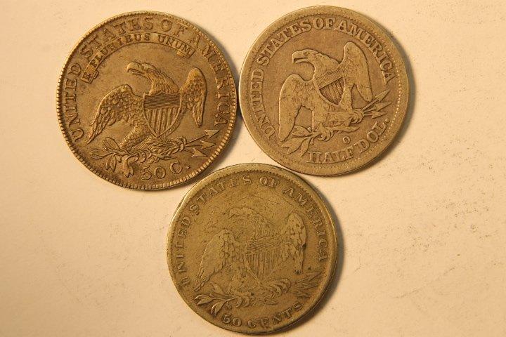 5 Silver US Half Dollars - 4