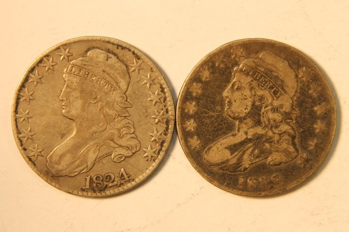 5 Silver US Half Dollars - 5
