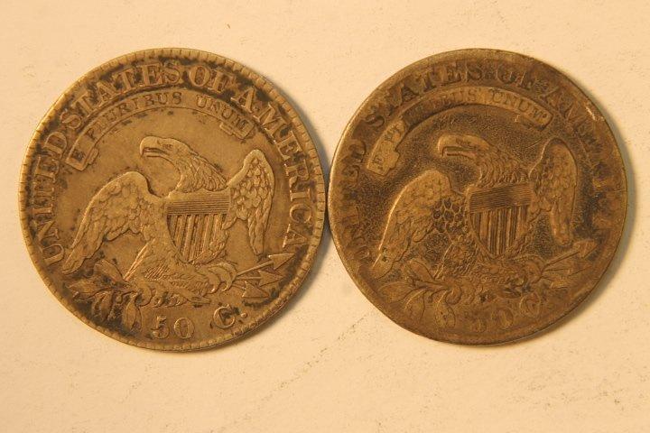 5 Silver US Half Dollars - 6