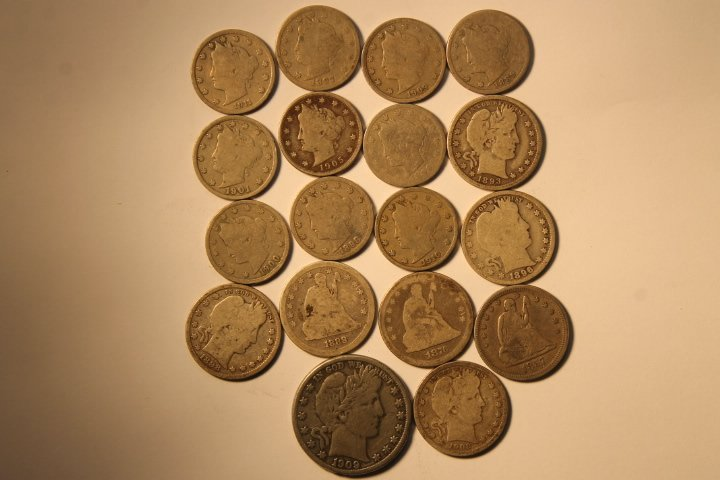 18 US Coins