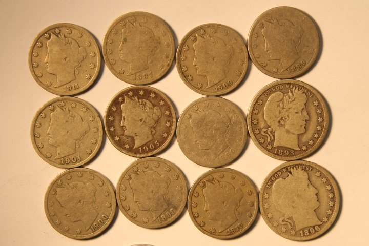 18 US Coins - 2