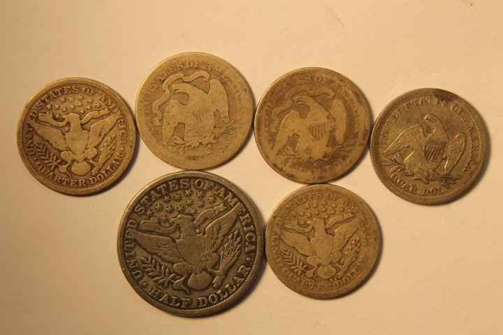 18 US Coins - 5
