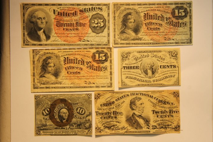 US Fractional Currency