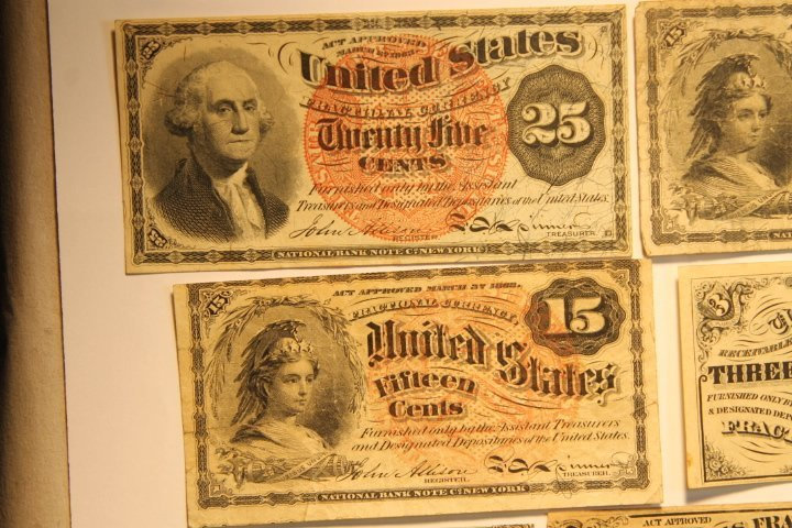 US Fractional Currency - 2