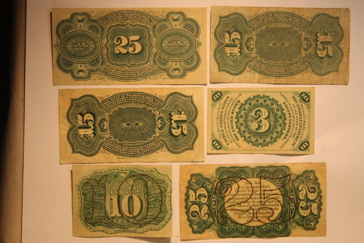 US Fractional Currency - 5