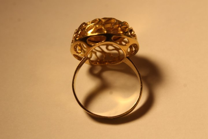 18kt Setting w/Gold Coin Inset - 3