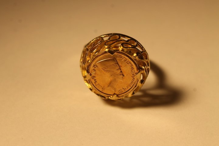 18kt Setting w/Gold Coin Inset - 5