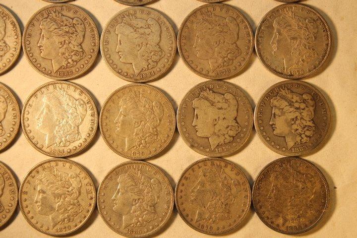22 US Silver Dollars - 3