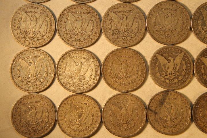 22 US Silver Dollars - 6