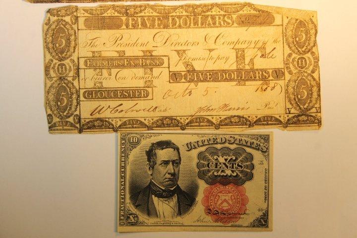 Early 1800's Bank Notes, 2 Civil War Era - 3
