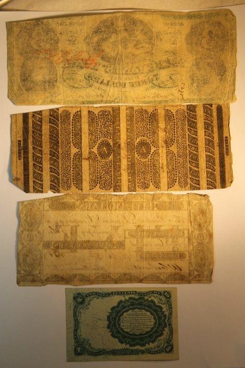 Early 1800's Bank Notes, 2 Civil War Era - 4