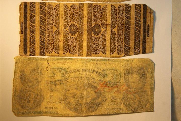 Early 1800's Bank Notes, 2 Civil War Era - 5