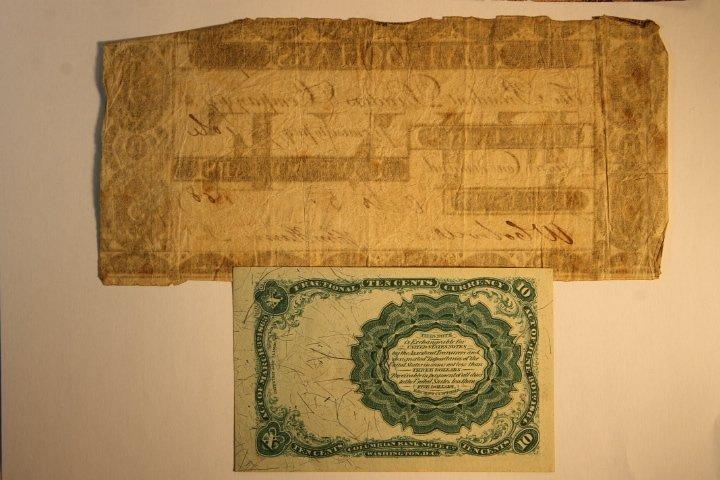 Early 1800's Bank Notes, 2 Civil War Era - 6