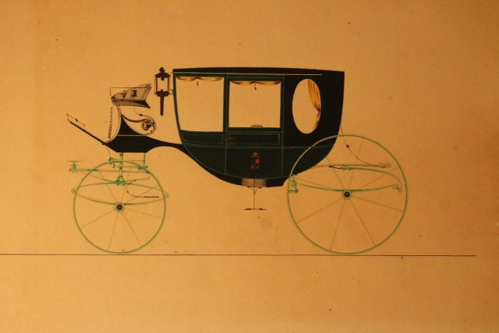 22 French Carriage Colored Lithos - 2