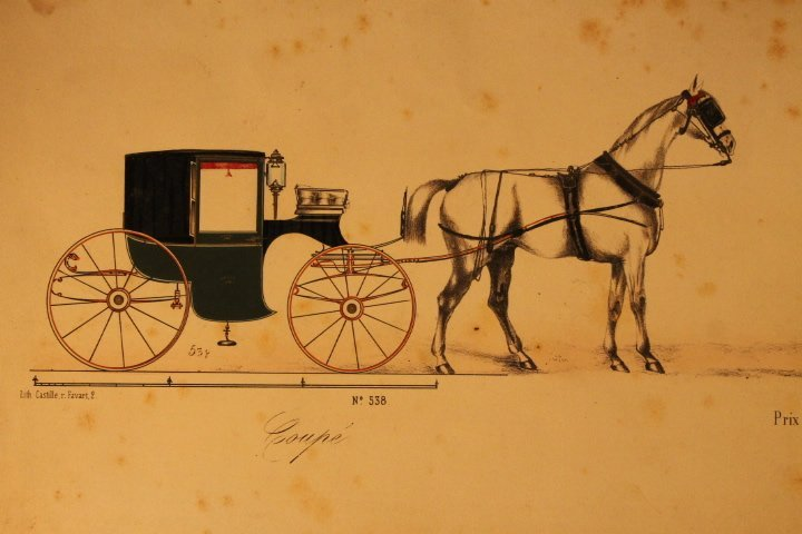 22 French Carriage Colored Lithos - 3
