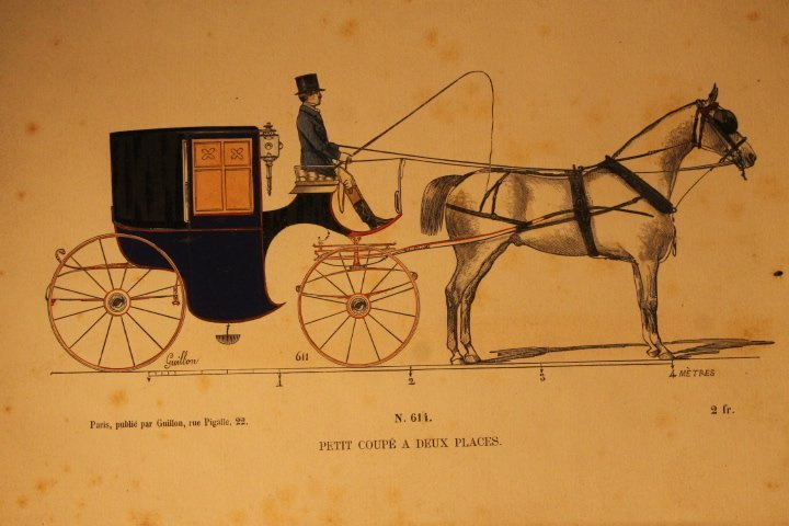 22 French Carriage Colored Lithos - 4