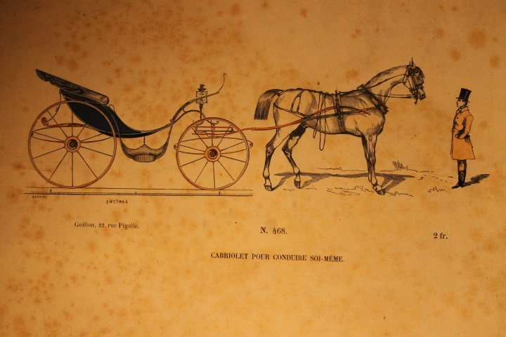 22 French Carriage Colored Lithos - 5