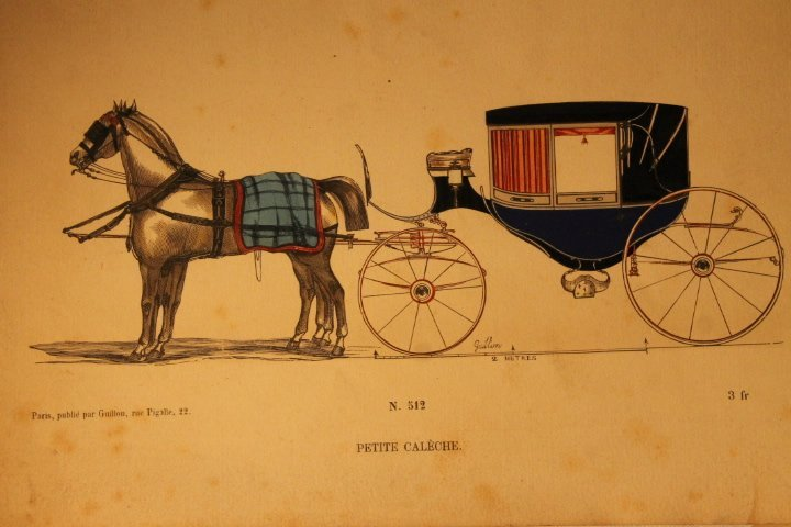 22 French Carriage Colored Lithos - 6