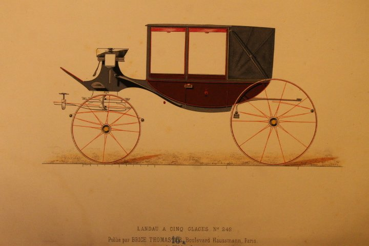 22 French Carriage Colored Lithos - 8