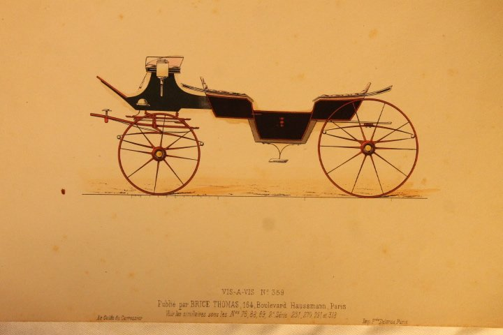 22 French Carriage Colored Lithos - 9