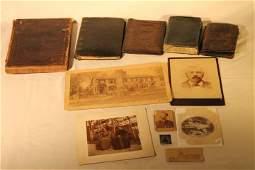 Lot of Misc, Cdv's, Wallet, Civil War & Other