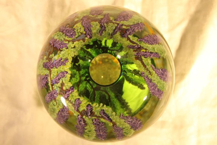 Chris Heilman Paperweight Vase - 10