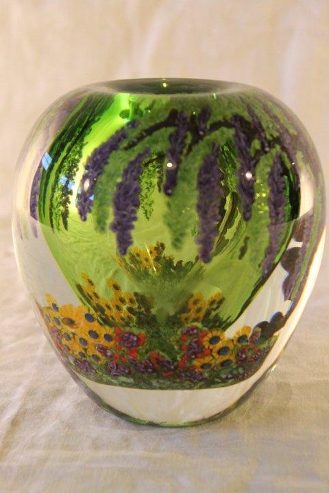Chris Heilman Paperweight Vase - 2