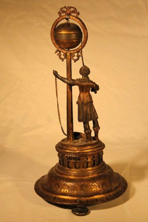 Blackamoor Globe Clock 18th Century - 6