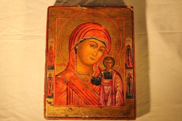 Russian Icon, Ptd Board