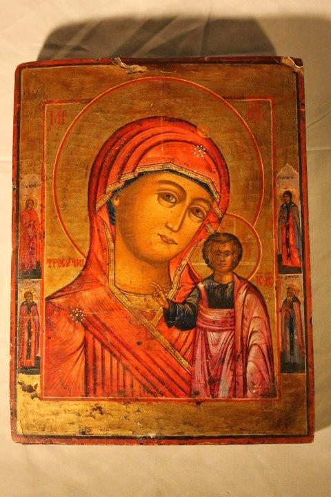 Russian Icon, Ptd Board - 2