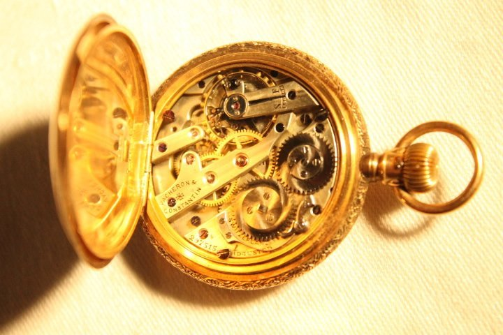 Vacheron & Constantin Geneva 14kt Gold Watch - 7