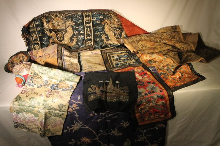 Lot of Asian Textiles
