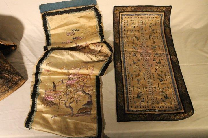Lot of Asian Textiles - 9