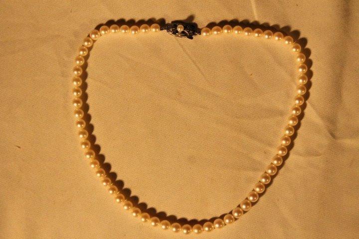 Mikimoto Pearls in Box - 2