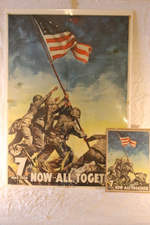 2 Original WWII Posters